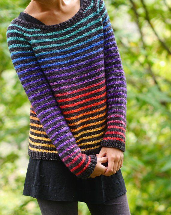 Designer Spotlight: Fun & Colorful Knit Sweaters & Cardigans By Minimi Knit Design