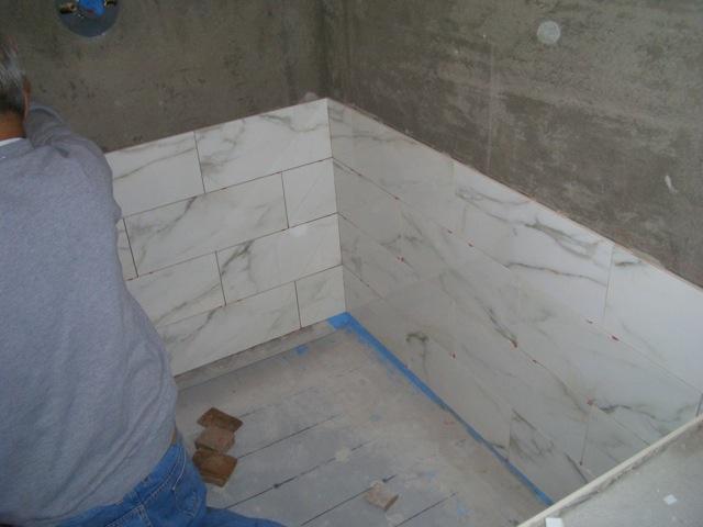 """Work in Progress: Master Bath by """"McLintock!"""" Builders"""
