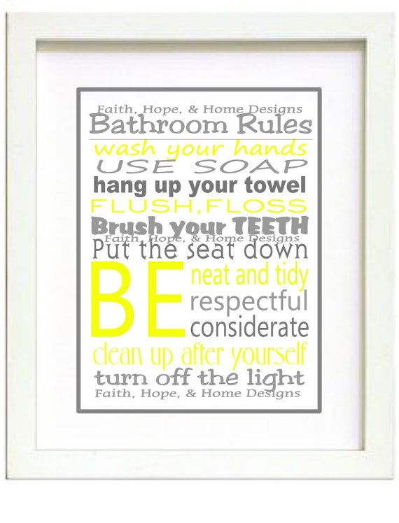 11 best yellow gray bathroom ideas images on pinterest for Rules of good bathroom design