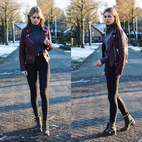 More looks by Isabella Dams: http://lb.nu/isabelladams  #casual #street #classy #winter #autumn #forever22 #zara #buckleboots #ankleboots