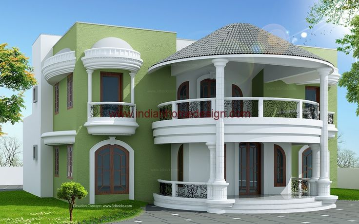 17 best images about house design on pinterest small for Villa designs india