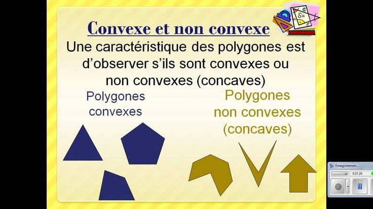 Les polygones et les quadrilatères - YouTube