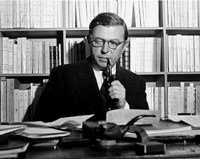 Jean-Paul Sartre: Writers, Photo