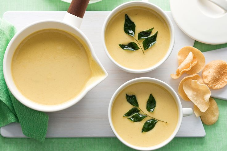 Use your favourite curry paste for this moreish soup recipe.