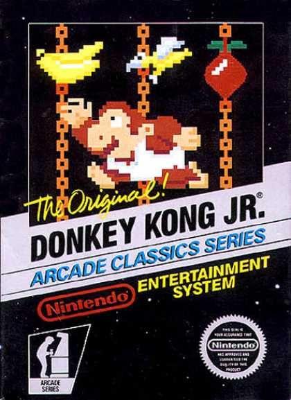 NES Games - Donkey Kong Jr