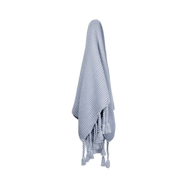 Ashton Pale Blue Throw ($91) ❤ liked on Polyvore featuring home, bed & bath, bedding, blankets, chunky knit throw, light blue throw, blue baby bedding, soft blue blanket and light blue blanket