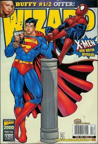 All Wizard Magazine Covers | WIZARD MAGAZINE (1991-2011 ...