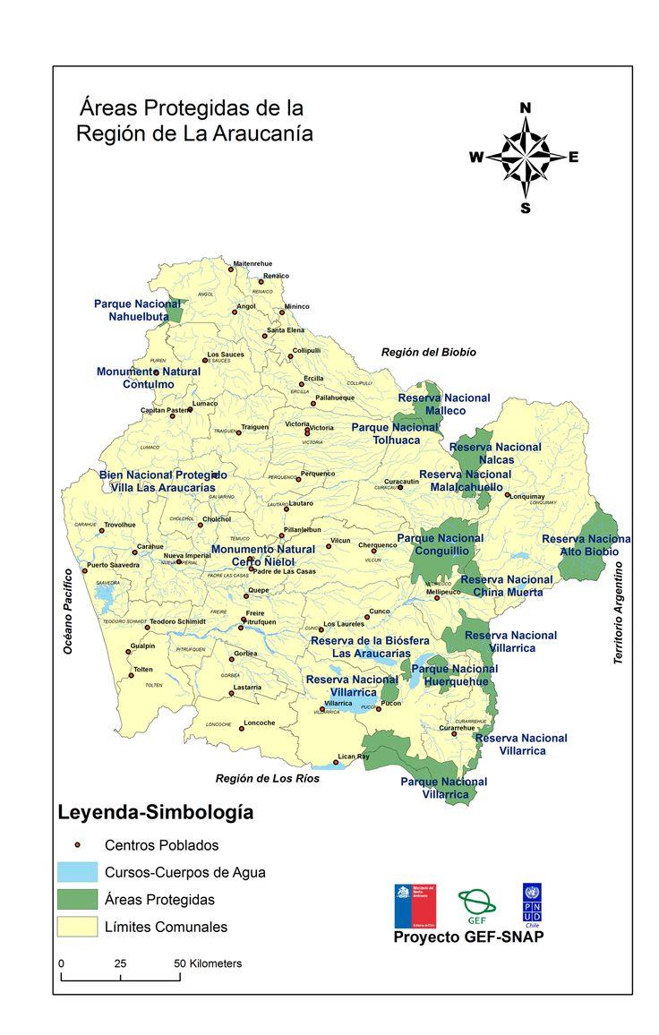 Áreas Protegidas de Chile: Araucanía | PNUD, GEF y Ministerio del Medio Ambiente - Chile
