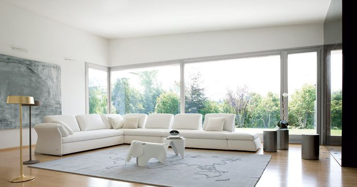 Progettare il soggiorno iniziando dal colore delle pareti: come sceglierlo, che tonalità utilizzare, migliori abbinamenti: bianco e varianti neutre.