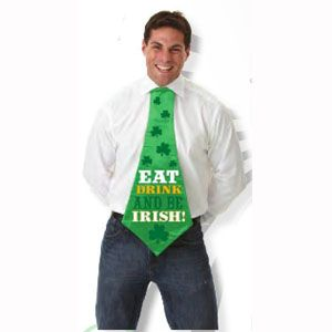 St. Patrick's Day Jumbo Novelty Tie
