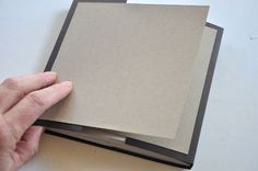 Flips and Flaps :-) To make the book you will need one 12 x 6 piece of cardstock, three 12 x 5.75 pieces of cardstock, and two 5.5 x 5.5 pieces of cardstock.