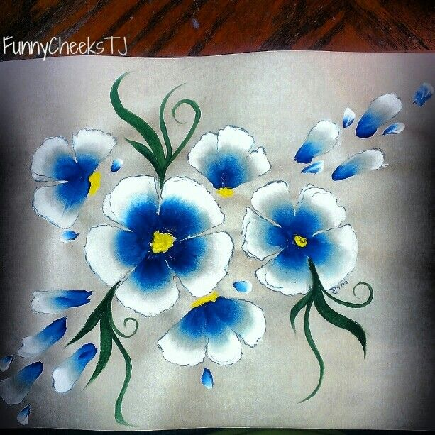 1000 Images About Paint On Pinterest: 1000+ Images About One Stroke Painting And Patterns On