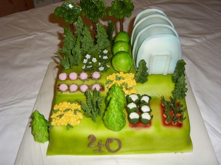 dort zahradnictví, cake garden