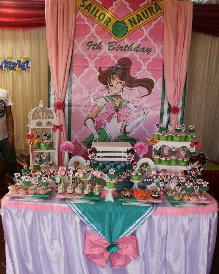25 Best Ideas About Sailor Moon Party On Pinterest