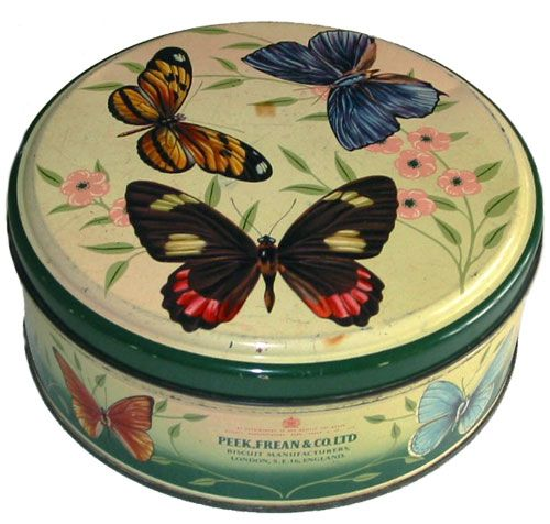 Biscuit or Cookie Tin  c.1956