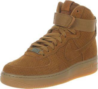 Nike Air Force 1 Hi Suede W Scarpa marrone