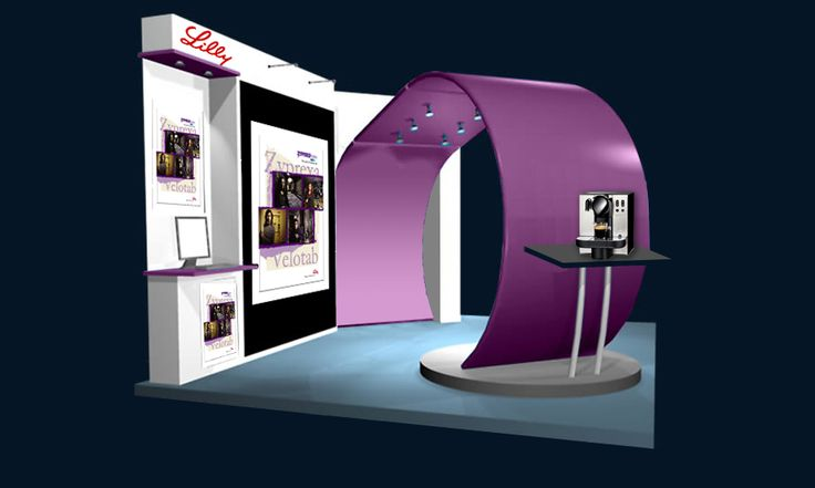 Our first 3D Stand to Lilly Pharma by Final Solution