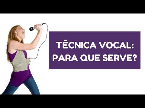 Tecnica vocal: para que serve? Se uma pessoa aprendeu a cantar sozinha, será que ela precisa de tecnica vocal? Nesse video a professora Iara Negrete explica porque a tecnica vocal é importante para todos que cantam ou querem aprender a cantar.