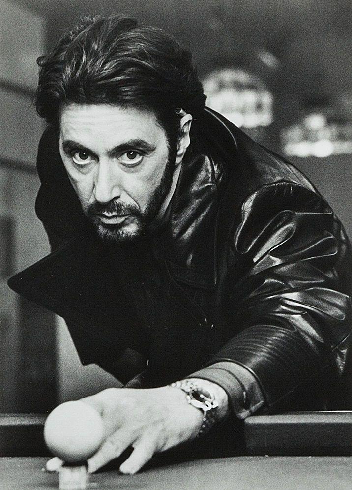 """Al Pacino en """"Atrapado por su pasado"""" (Carlito's Way), 1993"""