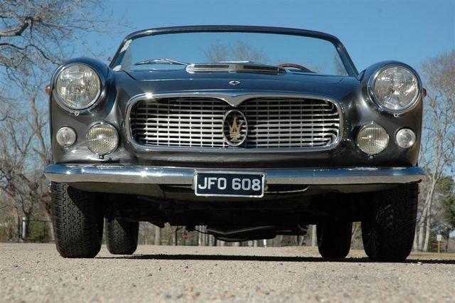 1963 Maserati 3500 GTi Vignale Spider | Maserati, Car ...