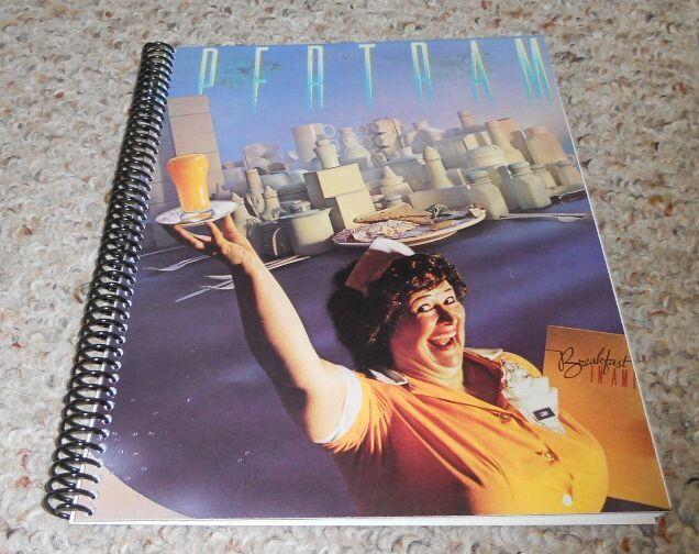 "Supertramp ""Breakfast in America"" Original Record Album Cover Notebook by RockandRecycle on Etsy https://www.etsy.com/listing/99729223/supertramp-breakfast-in-america-original"