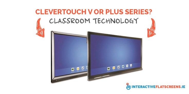 Clevertouch V or Plus Series - Classroom Technology - Interactive Flat Screens Ireland