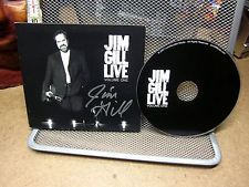 JIM GILL Live CD autograph 2007 folk-rock Cleveland OHIO singer-songwriter