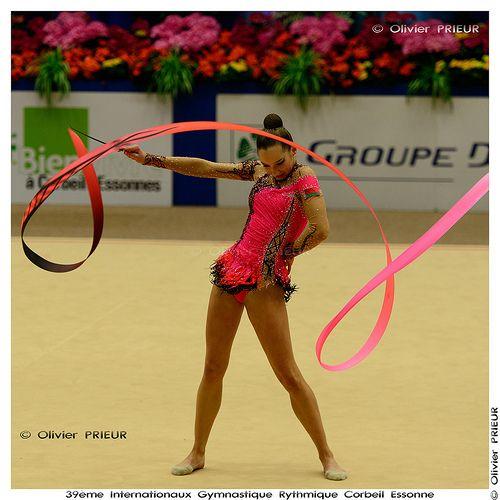 Katsiaryna HALKINA (BLR) at Internationaux GR Corbeil Essonne | por Olivier PRIEUR