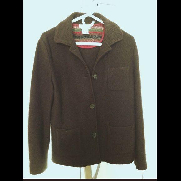 100 Percent Wool Coat Sm Coats