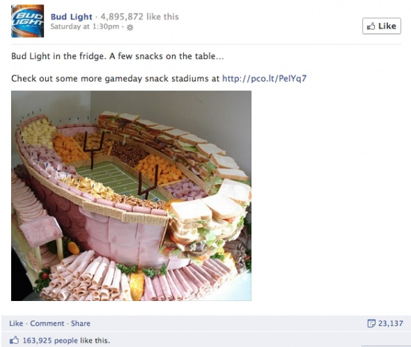 10 most liked Facebook brand posts in september