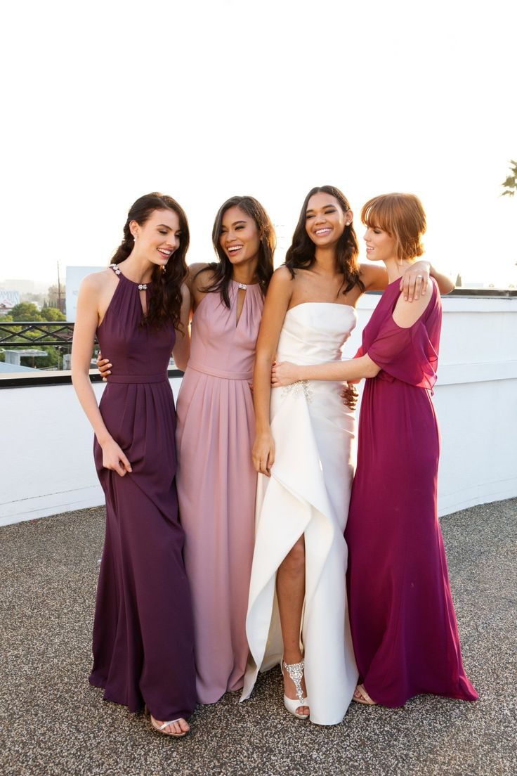 Best 25 fuchsia bridesmaid dress colors ideas on pinterest plum quartz and fuchsia bridesmaid dresses are beautiful wedding color pairings all year round ombrellifo Choice Image