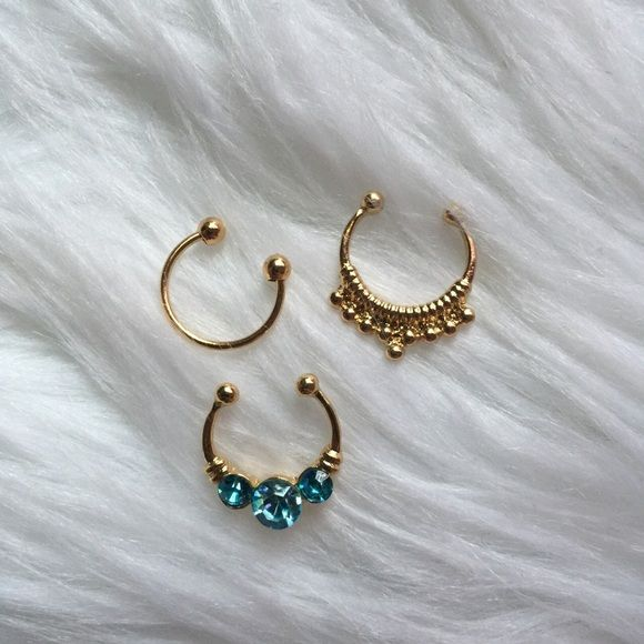 25 best ideas about faux septum ring on pinterest septum ring septum jewelry and septum - Decorative septum jewelry ...