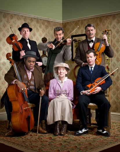 The Ladykillers and Mrs Wilberforce.
