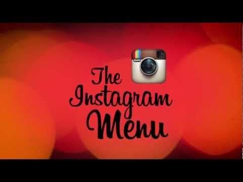 Instagram menú fotos. #ComodoMenu