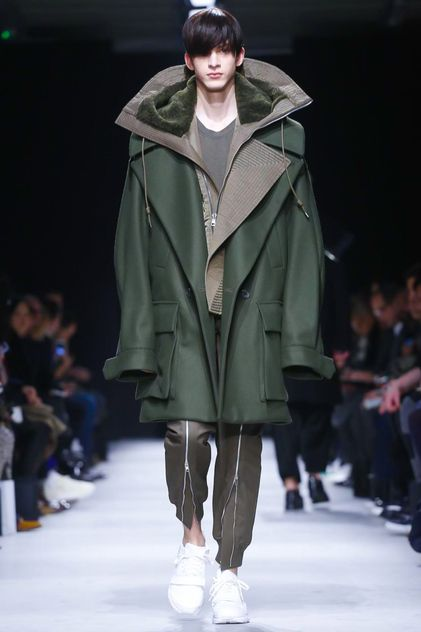 Juun J. Menswear Fall Winter 2015 Paris