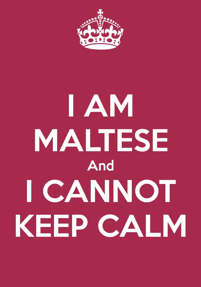Proud to be Maltese!