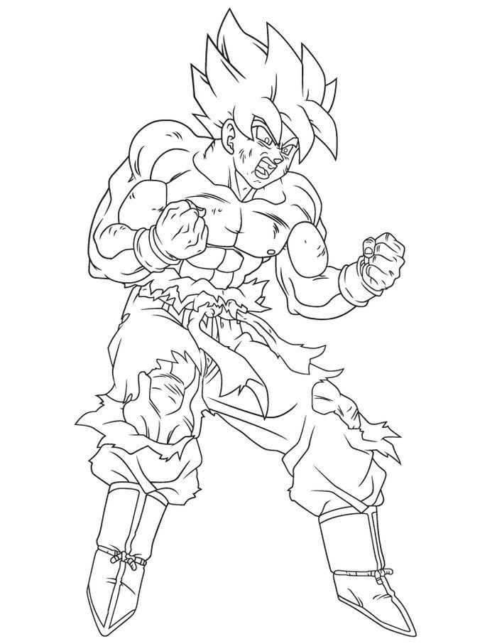 The Kindly Goku Coloring Pages Free Coloring Sheets Dragon Ball Artwork Dragon Drawing Dragon Ball Art