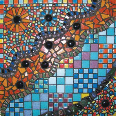 Abstract Wall Hanging   Art Mosaic Wonderland   Pinterest