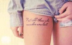 Short Quotes About Family Tattoos