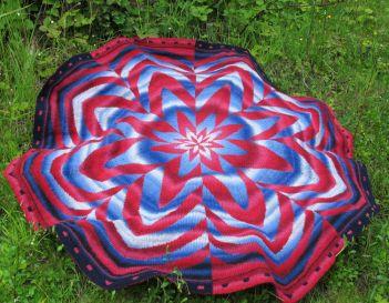 Zinnia DK Blanket.