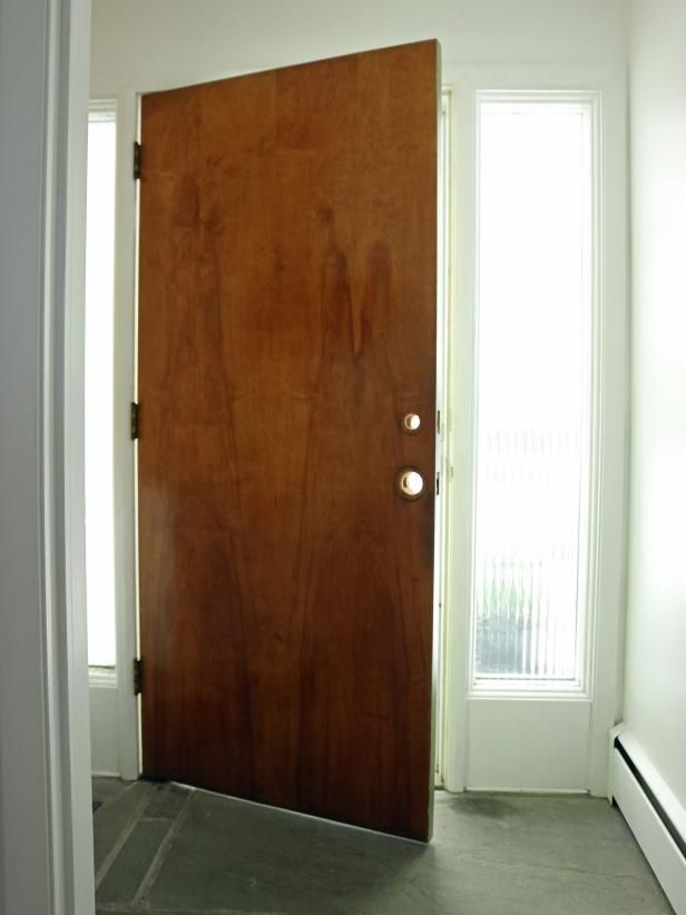 DIYNetwork.com Has Instructions On How To Give A Door An Affordable  Makeover Using Non