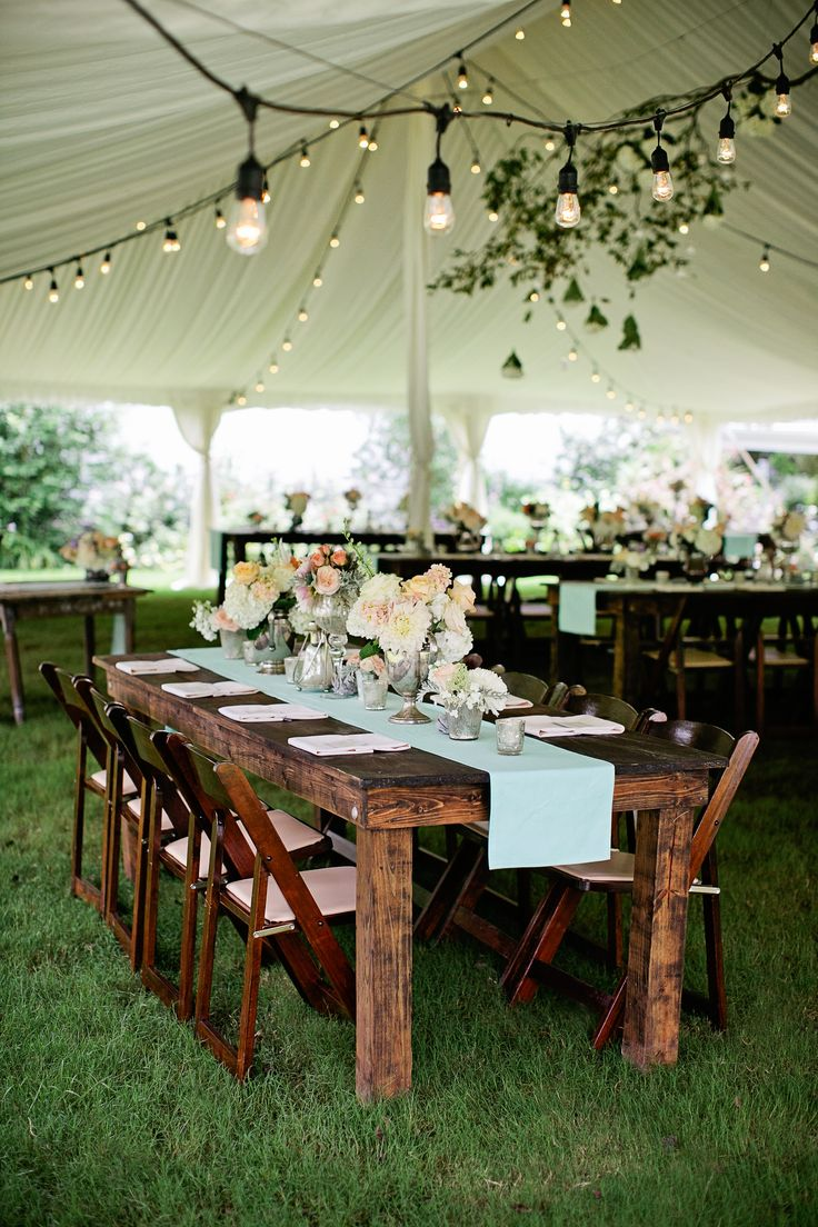 ideas for rustic wedding reception%0A Best     Farm table wedding ideas on Pinterest   Wedding table garland   Long tables and Wedding reception centerpieces