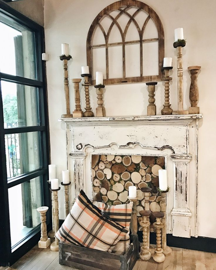 68 Best Images About Faux Fireplaces And Mantles On