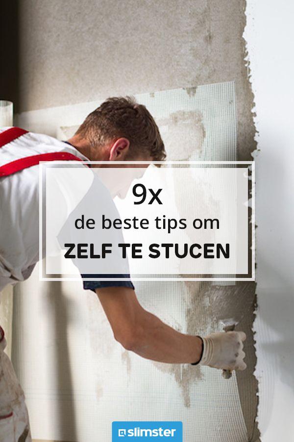 Pin Op Stucwerk Slimster