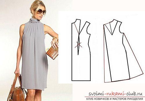 Выкройка и индивидуальный пошив летних платьев и сарафанов. Фото №2