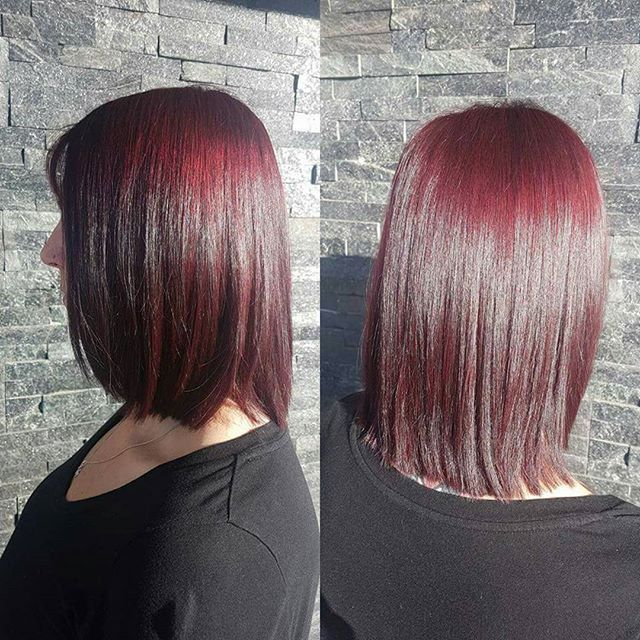 Fabulous hair by Ayrianna!!! We are in the love with the color and shine!!! <3    #weloveourclients #thankyouforsupportingourlocalbusiness #totallyrefreshedsteamandspa #totallyrefreshed #reddeerhairstylist #reddeerhairsalon #reddeerspa #hairbyayrianna #beautifulhair #schwarzkopf #hair #fabulous #hairstylist