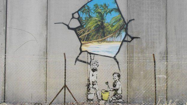 Banksy prints fetch £435,000 at auction - BBC News