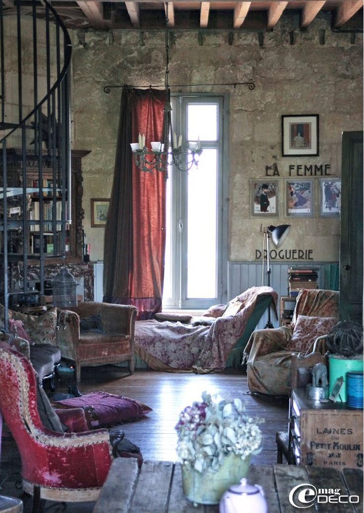 17 Best Ideas About French Bohemian On Pinterest The Red
