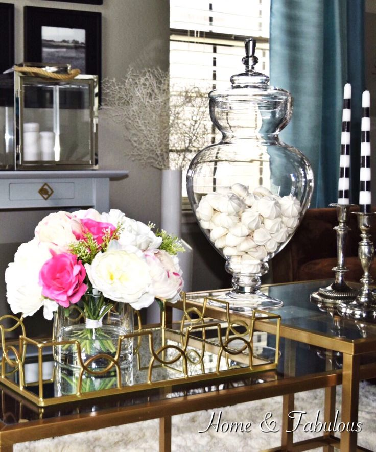 1000 images about gold and end table on pinterest chandelier lamp side tables and hollywood Home decor home goods