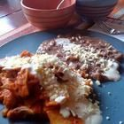 Foto de la receta: Chilaquiles con pollo